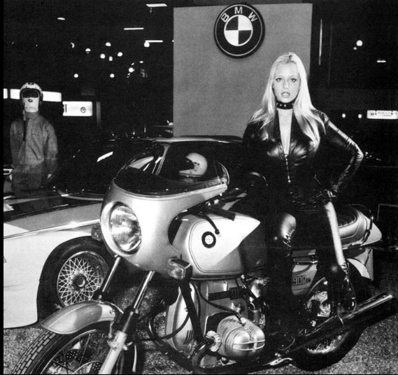 Blond on BMW