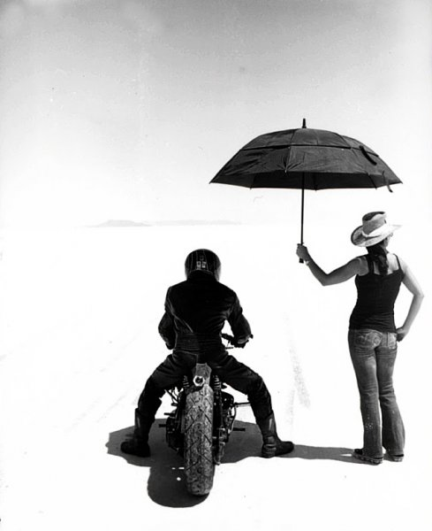 Shinya at bonneville